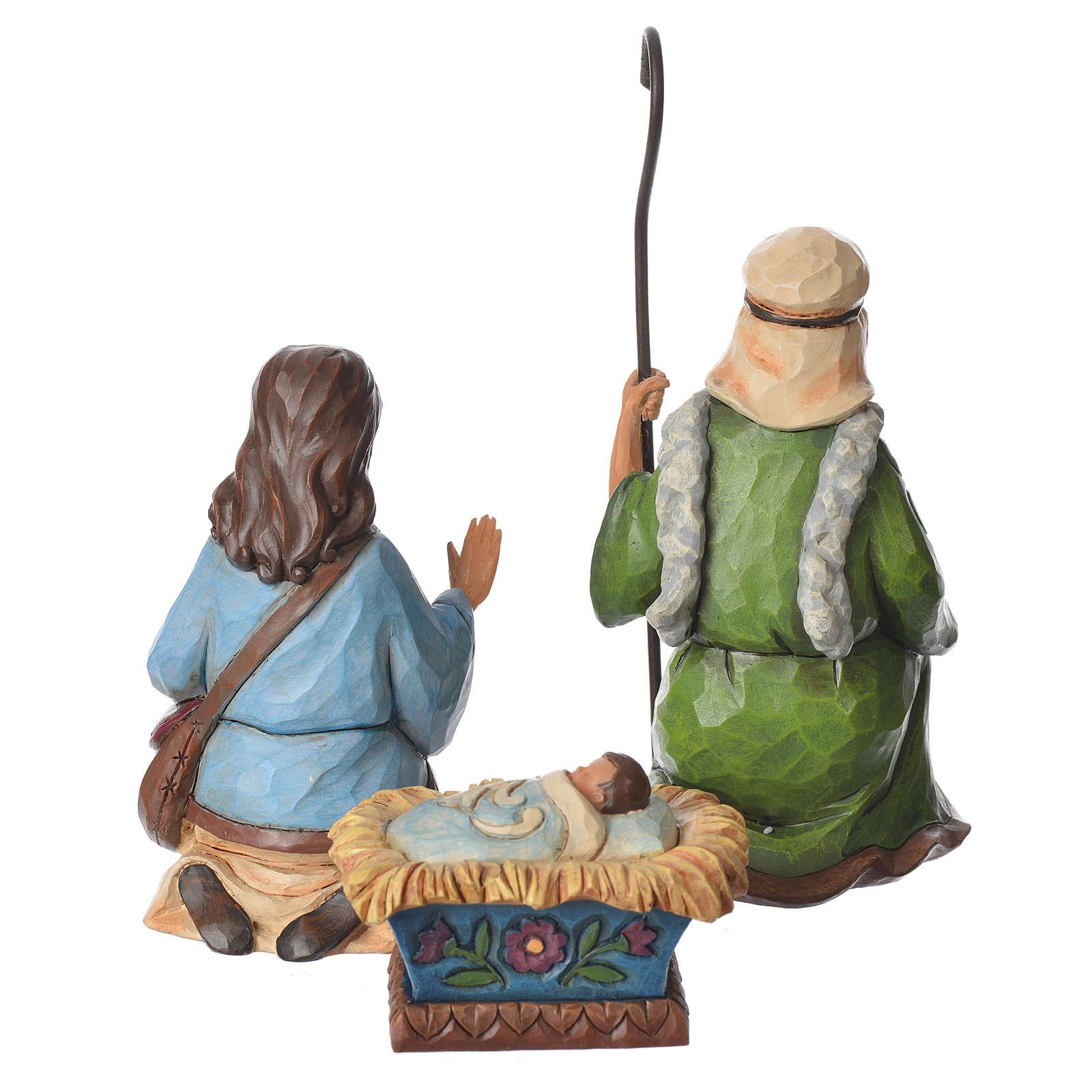 Jim Shore - Pint Nativity Set 9 pz 13cm 4