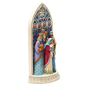 Jim Shore - Holy Family by Cathedral Window (Sacra Famiglia) s3