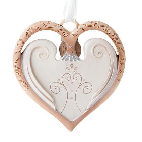 Angel ornament heart shaped Legacy of Love s2