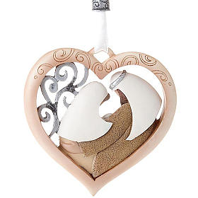 Nativity ornament heart shaped Legacy of Love s2