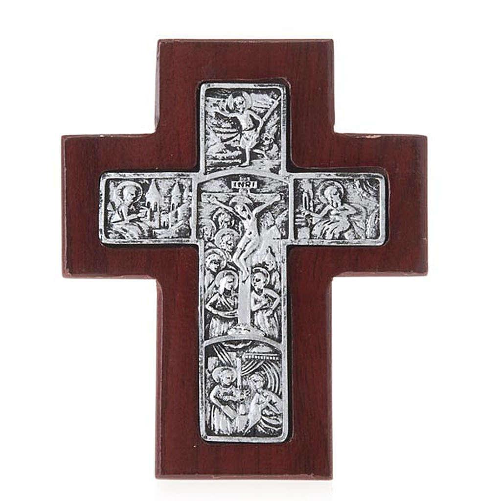 Croix en bois avec support 4