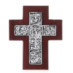 Croix en bois avec support s1