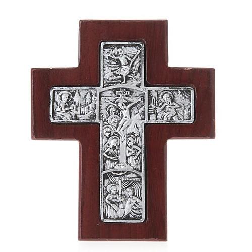 Croix en bois avec support 1