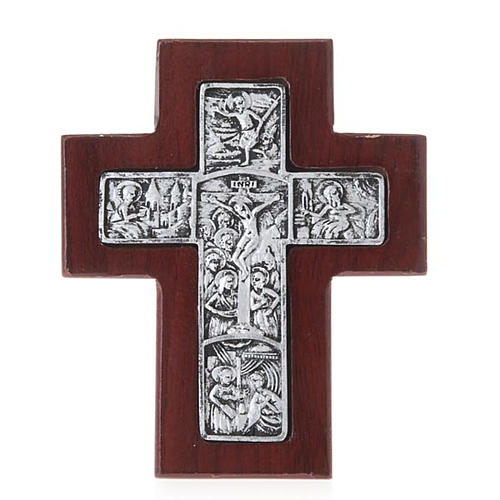 Wooden cross with stand 1