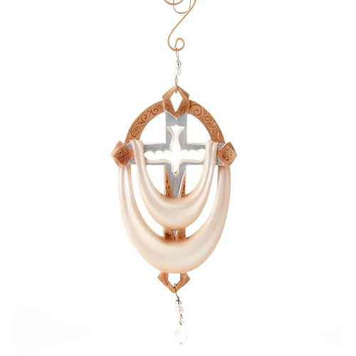 Cross with dove ornament Legacy of Love 1