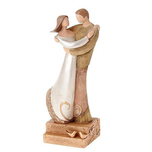 Kleine Statue romantische Paar Legacy of Love 1