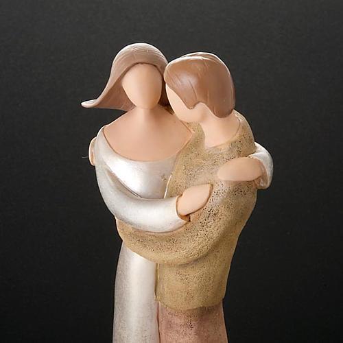 Kleine Statue romantische Paar Legacy of Love 2
