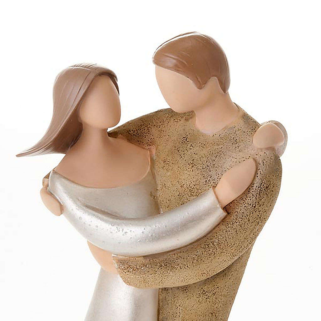 Statue couple romantique  legacy of love 4