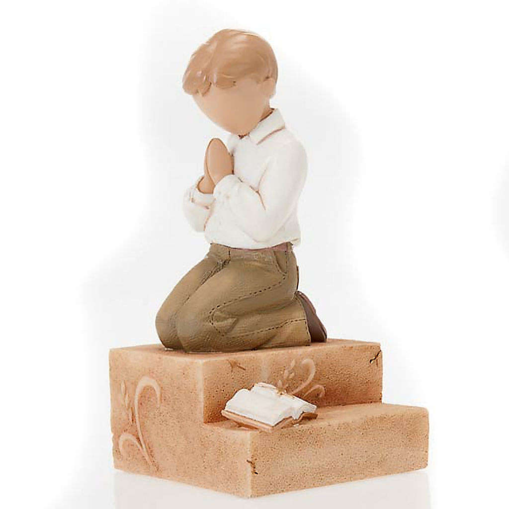 Praying boy figurine Legacy of Love 4