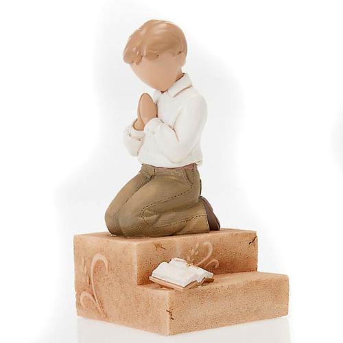Praying boy figurine Legacy of Love 1