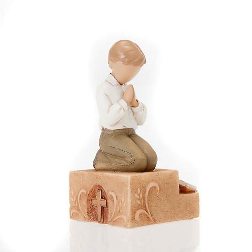 Praying boy figurine Legacy of Love 2
