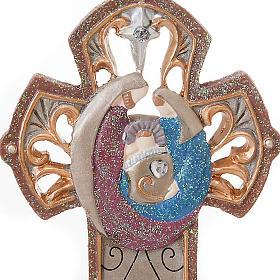 Nativity cross hanging Legacy of Love s2