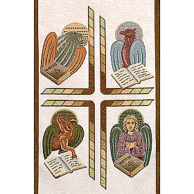 Paño de atril 4 evangelistas- fondo varios colores s3