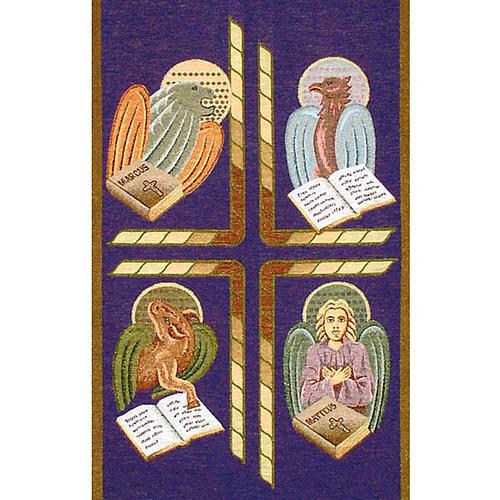 Paño de atril 4 evangelistas- fondo varios colores 2