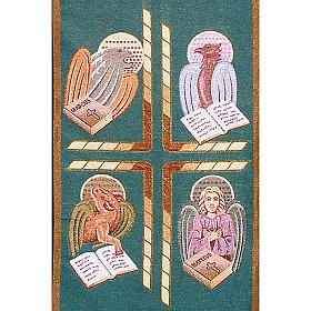 Voile de lutrin 4 évangélistes s4