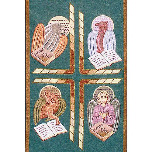 Voile de lutrin 4 évangélistes 4