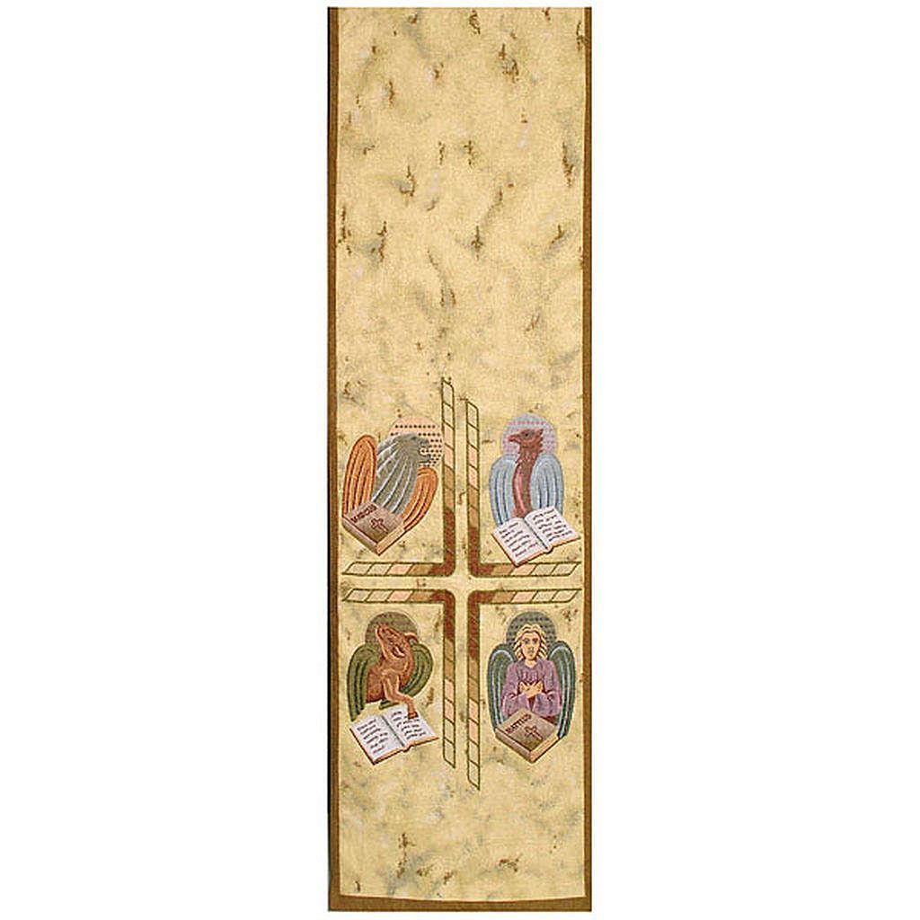 Coprileggio 4 evangelisti sfondo oro maculato 4