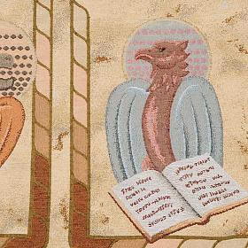 Welon na ambonę 4 ewangeliści tło złote centkowa s7