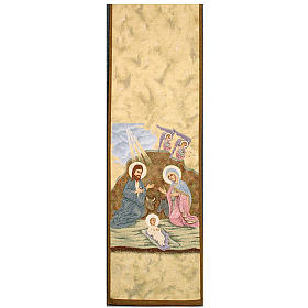 Lectern cover, Nativity and Angels s1