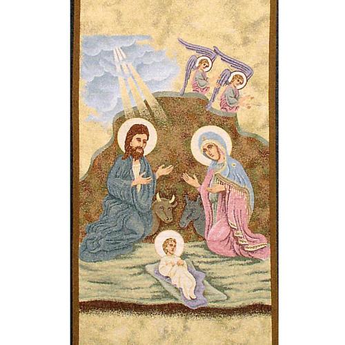 Coprileggio Natività e angeli 2