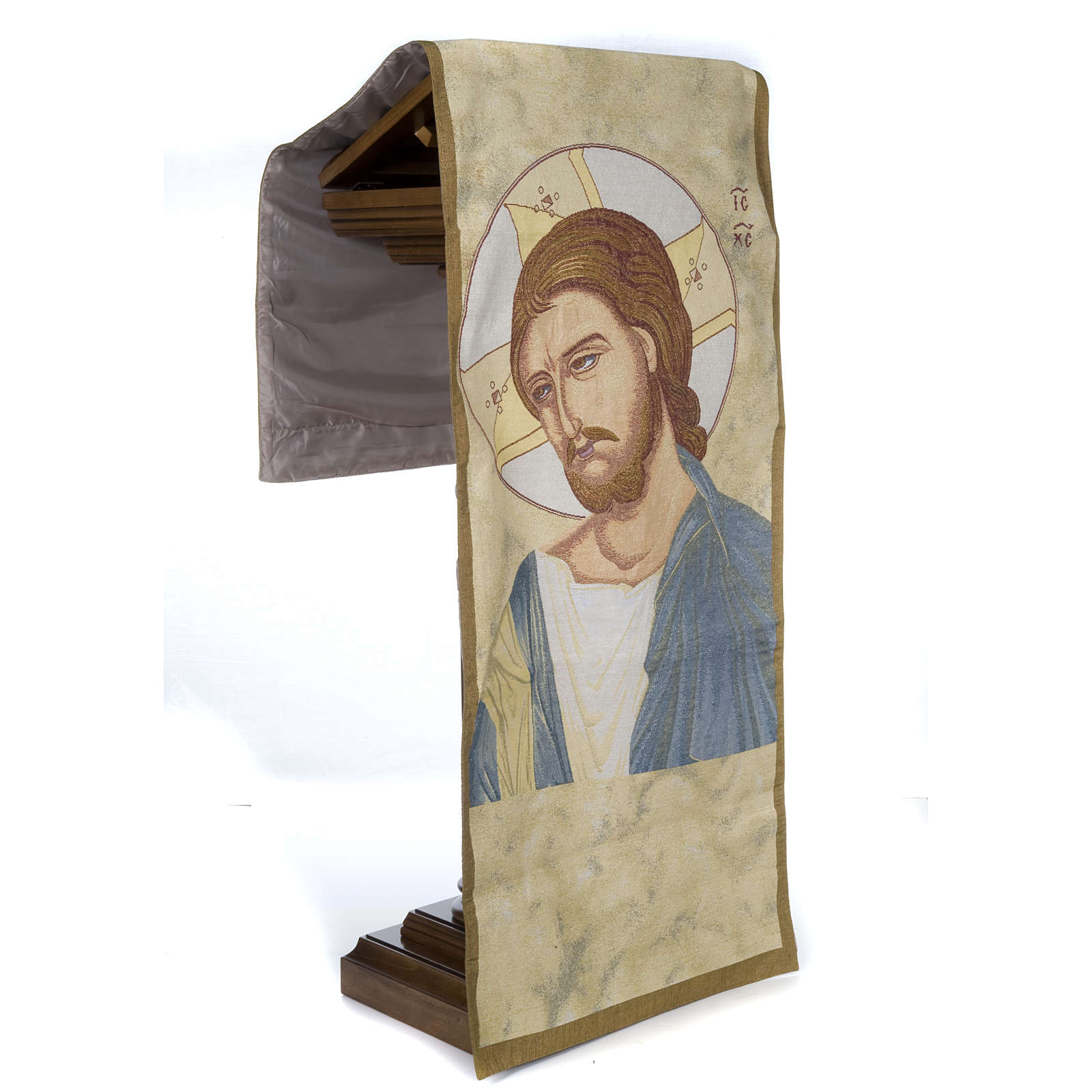 Christ lectern cover 4