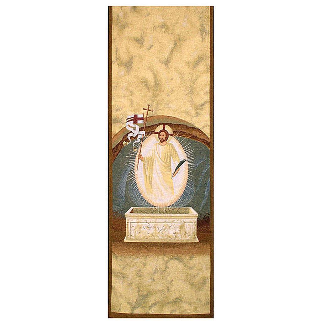 Resurrection lectern cover 4