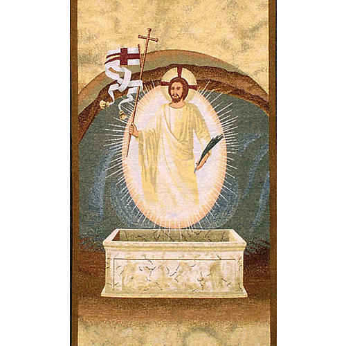 Resurrection lectern cover 2