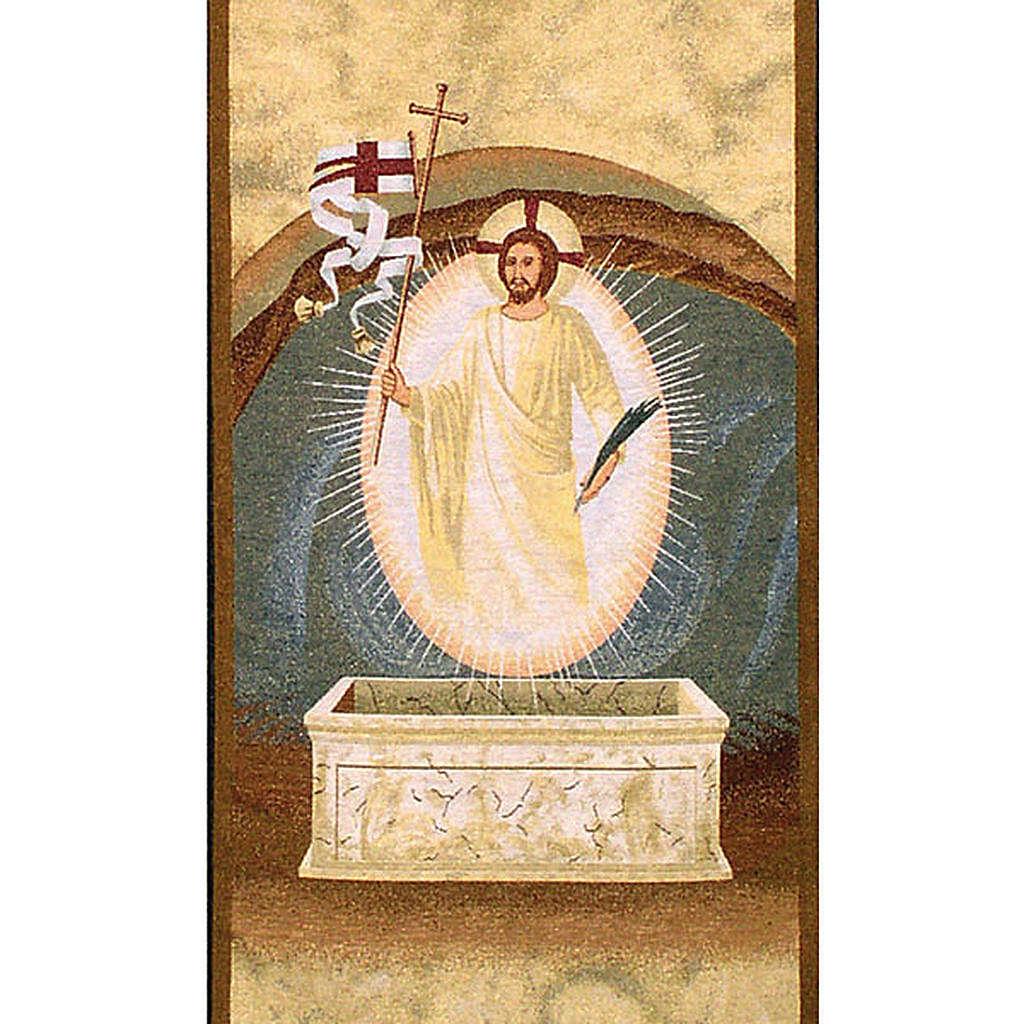 Paño de atril resurrección 4