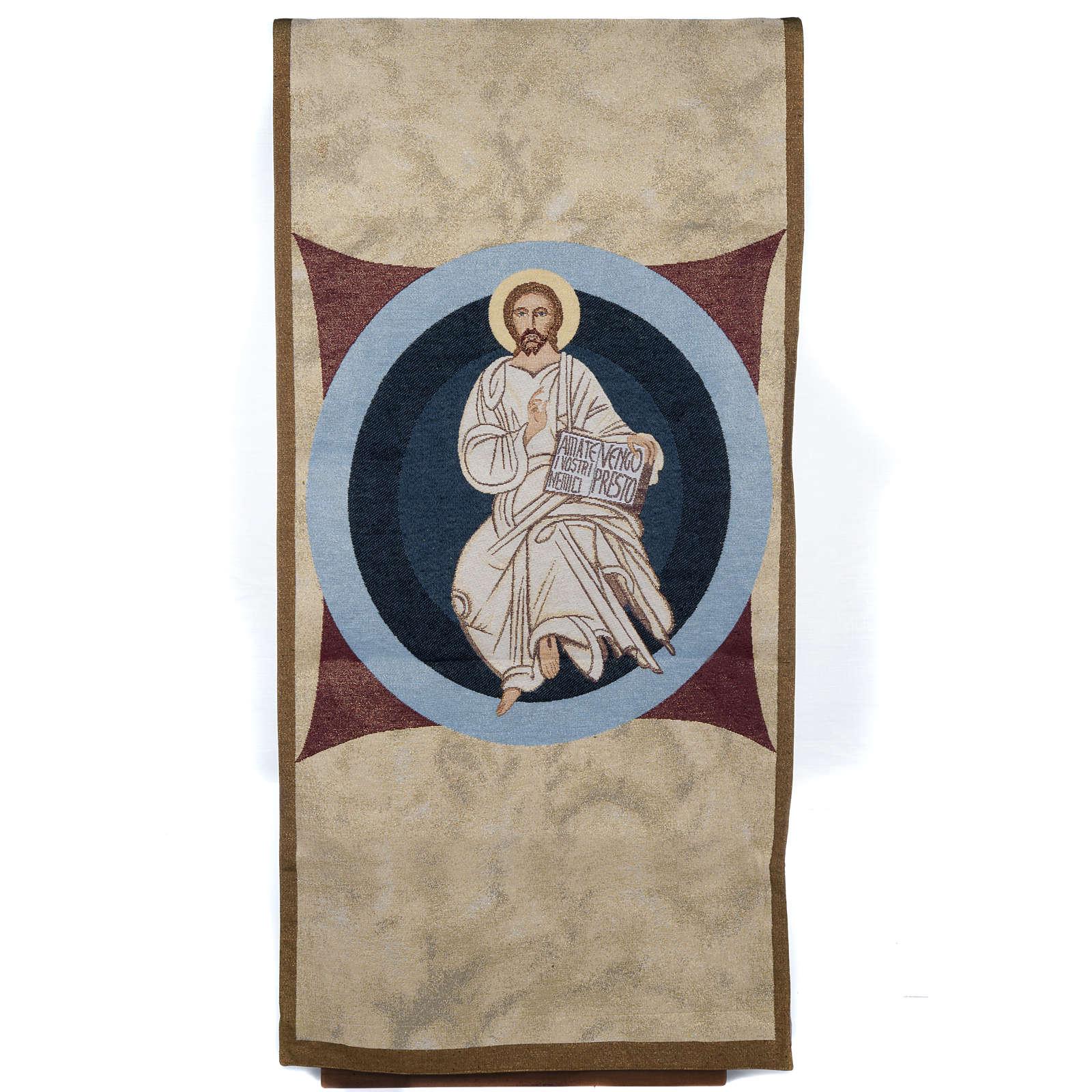 Voile d'ambon Christ le maître 4