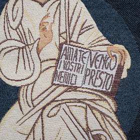 Pulpit cover with Christ the King, Neocatechumenal Way s3