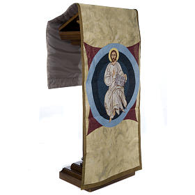Pulpit cover with Christ the King, Neocatechumenal Way s4