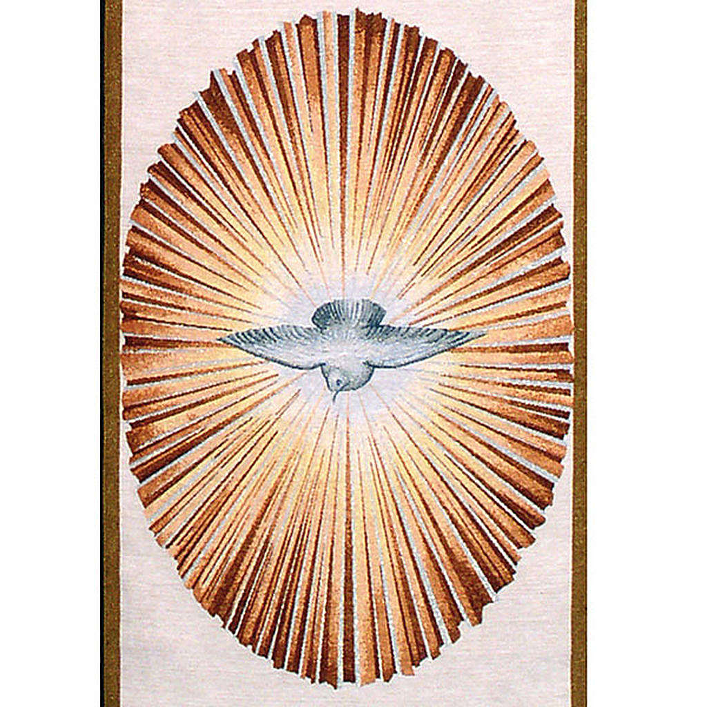 Holy Spirit lectern cover 4