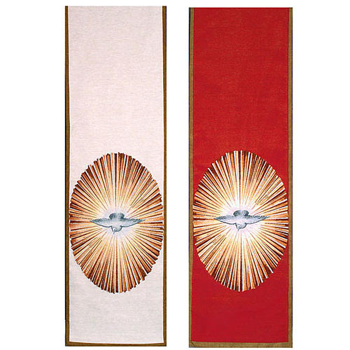Holy Spirit lectern cover 1