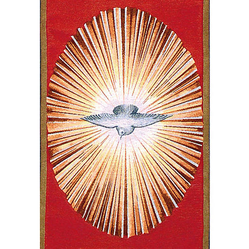 Holy Spirit lectern cover 2