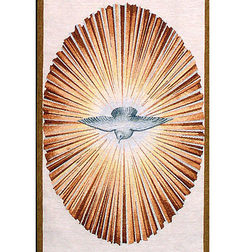 Holy Spirit lectern cover 3