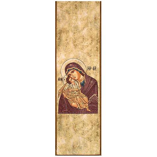 Paño de atril Virgen de la Ternura 1