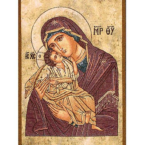 Paño de atril Virgen de la Ternura 2