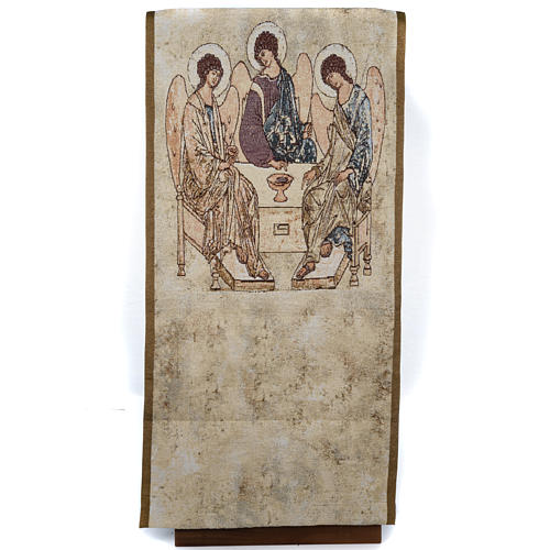 Holy Trinity pulpit cover 1
