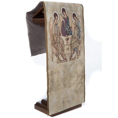 Holy Trinity pulpit cover 4
