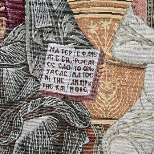 Coprileggio S.S. Trinità sfondo oro 4