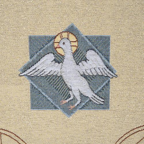 Coprileggio S.S. Trinità sfondo oro 5