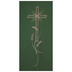 Voile d'ambon IHS croix et épis s2