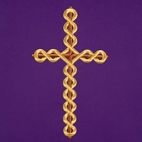 Voile de lutrin croix tortillon s6