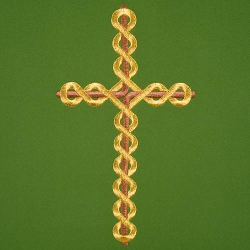 Voile de lutrin croix tortillon 3