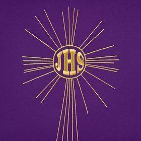 Serweta na lektorium IHS i promienie kolory liturgiczne s3
