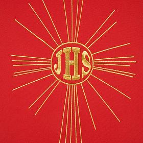 Serweta na lektorium IHS i promienie kolory liturgiczne s6