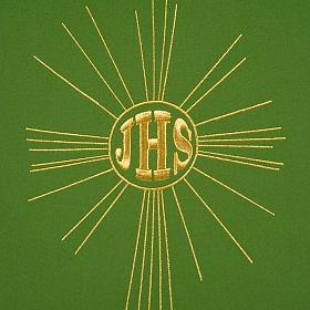 Serweta na lektorium IHS i promienie kolory liturgiczne s8