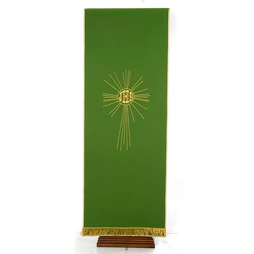 Serweta na lektorium IHS i promienie kolory liturgiczne 7
