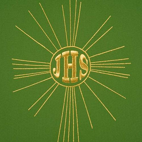 Serweta na lektorium IHS i promienie kolory liturgiczne 8