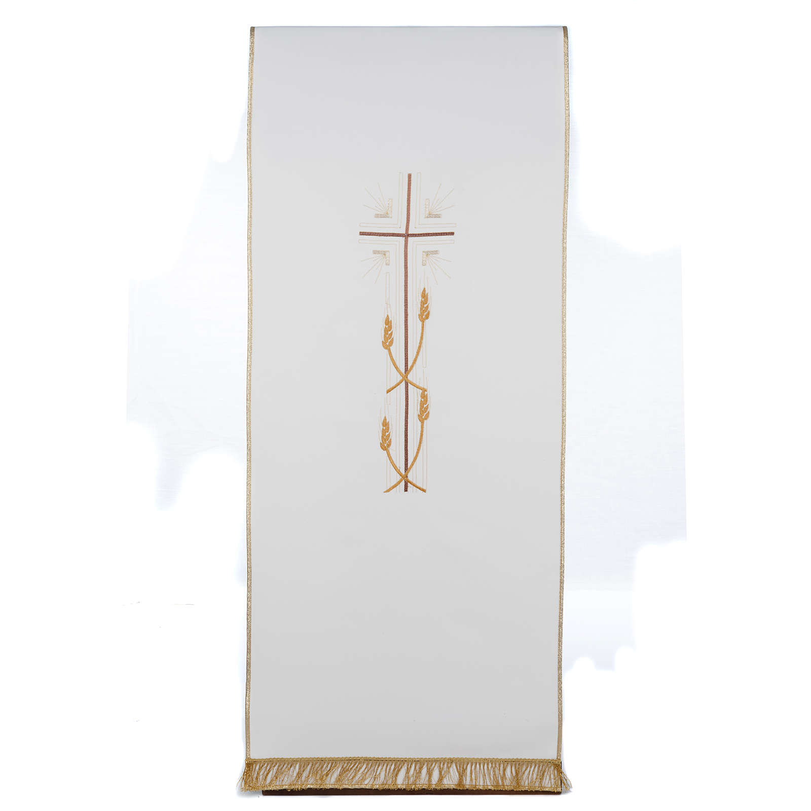 Coprileggio croce sottile spighe vari colori 4